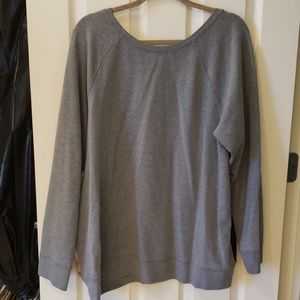 Lane Bryant Tops - LB Gray/Mauve colored Casual Top